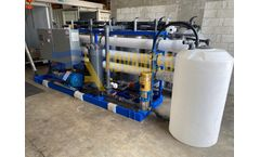 ADVANCEES - DESALINATION - Model MSWRO-0065 - ADVANCEES - SEAWATER REVERSE OSMOSIS SYSTEM 65K GPD CAPACITY