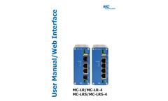 Model MC LR - Industrial Router-LAN/WAN Brochure