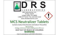 DRS - Model MCS - Neutralizer Tablets