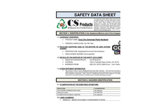 Coco Dry MSDS
