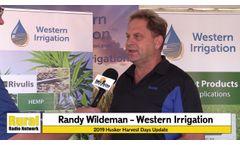 Hemp Irrigation - Western Irrigation Spotlight - Video