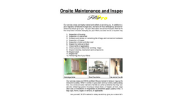 Dust Collector On Site Service Brochure