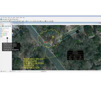 Communications Network GIS Software-1