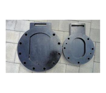 Abrasion Resistant Polyurethane Vacuum Discharge Slide Valves