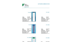 Activated Carbon Filter Cartridges Brochure