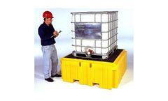 Spill Pallet Plus - Model Ultra-IBC - Ultra Bucket Shelf