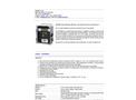 GSM-60 Gas Sampling Monitor Brochure