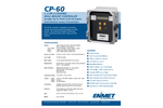 ENMET - Model CP-60 - Hazardous Gas Detection Controller - Brochure