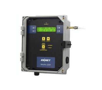 ENMET - Model MedAir 2200 - Compressed Airline Monitor