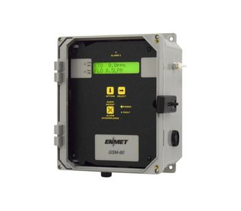 ENMET - Model GSM-60 - Fixed Gas Detection System