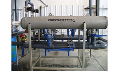 180 Series self-cleaning water filter