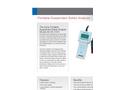 Aysix - A6-IIG-3150 - Portable  Suspended Solids Analyzer Datasheet