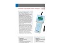 Aysix - A6-IIG-3150L - Portable  Suspended Solids Analyzer Datasheet