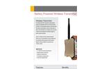 RF Wireless Battery Powered Datasheet