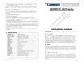 Aysix - Model MIST Series RTD - Industrial Temperature Sensors