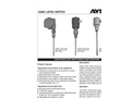 Aysix - LSA01 Series - Capacitance Level Switch Single Point Detection Datasheet