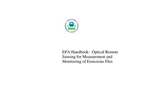 EPA Handbook: Optical Remote Sensing for Measurement and Monitoring of Emissions Flux Datasheet