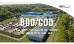 Real-Time BOD/COD Monitoring for Wastewater Process Control