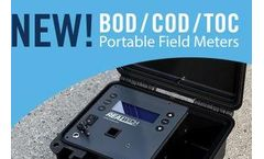 New BOD, COD, and TOC Organics Field Meters from Real Tech