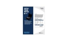 Real Tech UV254 P Series Field Meter - Specification Sheet