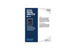 Real UV254 Analyzer Specification Sheet - Organics Water Quality Monitoring