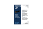 Real Multi-Wave Probe Specification Sheet - Multiple Parameter Water Quality Monitoring