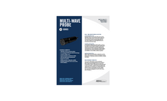 Multi-Wave Probe Specification Sheet - Multiple Parameter Water Quality Monitoring