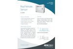 Real Nitrate Sensor Specification Sheet - Nitrate Water Quality Monitoring