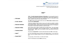 TDXDataExchange - Hazardous Waste Software Brochure