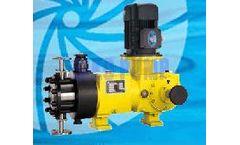 SIKO - Model MPH Series - Hydraulic Actuated Diaphragm Metering Pump