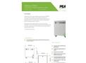 Peak Scientific - Model 1053 PSA - High Purity Nitrogen Generator for Labs - Datasheet
