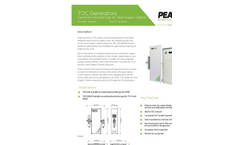 TOC Generators - Carrier/Combustion Gas for Total Organic Carbon - Datasheet