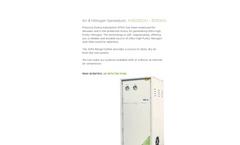 ANG Range Air & Nitrogen Generators – Leaflet