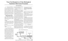 True Confessions of the Biological Nutrient Removal Process Brochure