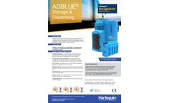 Harlequin AdBlue Tanks Brochure
