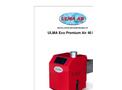 ULMA - Model Eco Premium Air 40 kW - Pellet Burner - Brochure