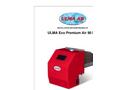 ULMA - Model Eco Premium Air 90 kW - Pellet Burner - Brochure