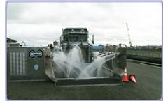 Water treatment solutions for the truck and tire wash