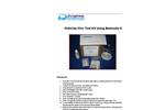ChitoVan Floc Test Kit Using Bentonite Clay - Instructions Manual