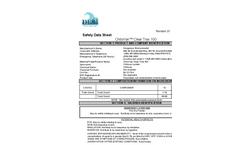 Clear Trax - High Sediment Load Clarifier - 100 Safety Data Sheet