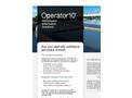 Operator10 Wastewater Product Sheet