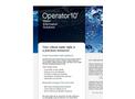 Operator10 Water Product Sheet