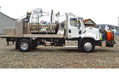 GapVax - Model GJET Series - Jetter Flush Truck