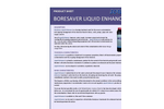 BoreSaver Liquid Enhancer Brochure