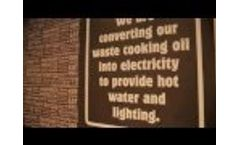 Used Cooking Oil Recycling - No Collections, Create Electricity &Heat @ KFC Video