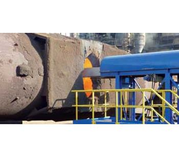 Steel & industrial refractories solutions for laser measurement systems sector - Metal