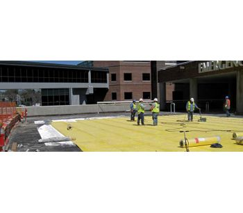 Building Materials solutions for plaza deck waterproofing sector - Construction & Construction Materials