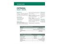 CETSEAL Sealant/Adhesive - Technical Data Sheets
