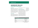 Model SB-100 - Solvent-Based Contact Adhesive - Technical Data Sheets