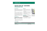 Quik-Solid - Superabsorbent Media Booms - Technical Datasheet